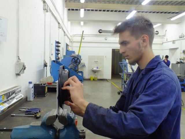 Školní kolo soutěže zručnosti oboru Automechanik
