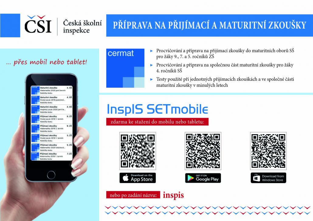 Aplikace pro přípravu na maturitní zkoušky